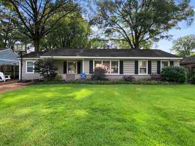 Shelby County Single Family Home Contingent: 1256 W Perkins
