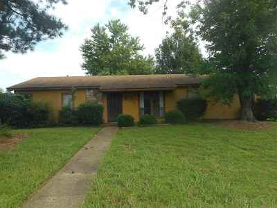Memphis Single Family Home For Sale: 3436 Melodywood
