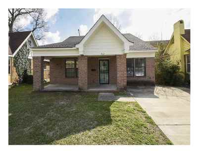 Single Family Home For Sale: 962 Maury