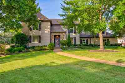 Collierville Single Family Home For Sale: 10450 N Levee Oaks