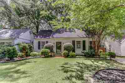 Memphis Single Family Home For Sale: 253 S Reese