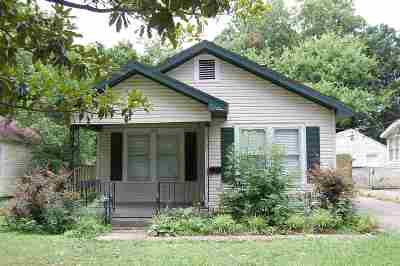 Memphis TN Single Family Home For Sale: $99,000