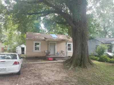 Memphis Single Family Home For Sale: 1989 Dupont