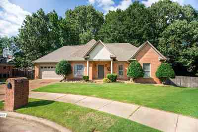 Collierville Single Family Home Contingent: 698 Tara Woods