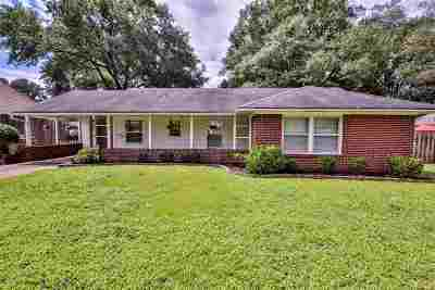 Memphis Single Family Home For Sale: 4815 Parkside