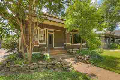 Memphis Single Family Home For Sale: 2021 Nelson