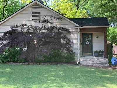 Memphis Single Family Home For Sale: 301 High Point