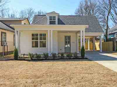 Memphis Single Family Home For Sale: 1783 Nelson