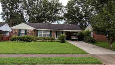 Memphis Single Family Home For Sale: 4567 Given