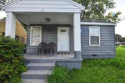 Memphis Single Family Home For Sale: 1509 N Hollywood