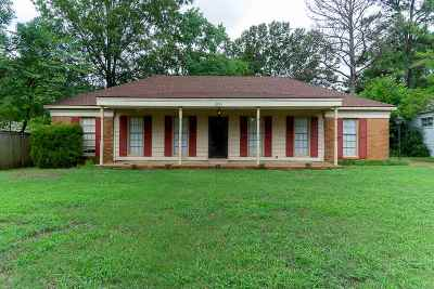 Memphis Single Family Home For Sale: 2295 Eastover