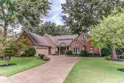 Collierville Single Family Home Contingent: 10370 Whealdon