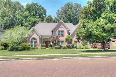 Collierville Single Family Home Contingent: 367 W Revell Pointe