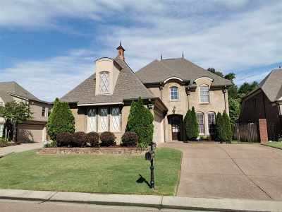 Collierville Single Family Home For Sale: 1645 De Haig