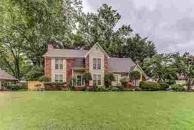Collierville Single Family Home Contingent: 3434 Bailey Creek