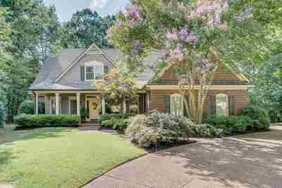 Memphis Single Family Home Contingent: 8275 Bluff View