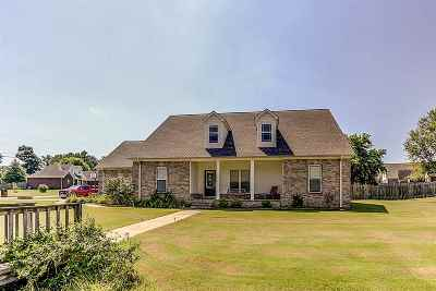 Atoka Single Family Home For Sale: 330 Brittany