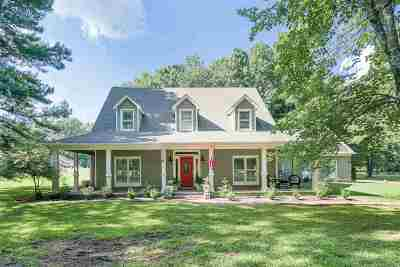 Memphis Single Family Home Contingent: 9452 Rocky Glen