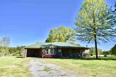Holly Springs MS Single Family Home For Sale: $230,500