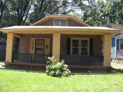 Cooper Young Single Family Home Contingent: 1747 Euclid