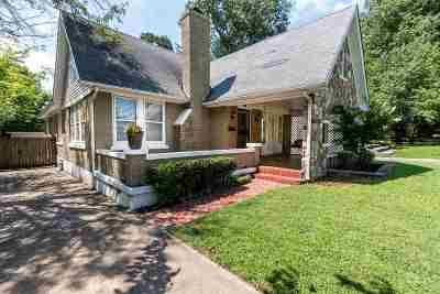 Single Family Home For Sale: 759 N Trezevant