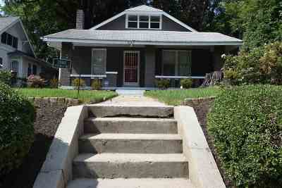 Memphis Single Family Home For Sale: 2002 Central