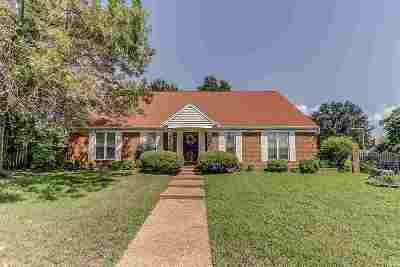 Memphis Single Family Home For Sale: 2890 McVay Trail