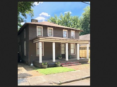 Cooper Young Single Family Home For Sale: 1044 Philadelphia