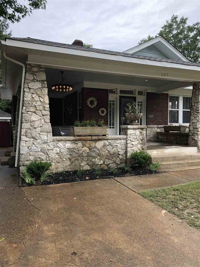 Single Family Home For Sale: 687 N Idlewild