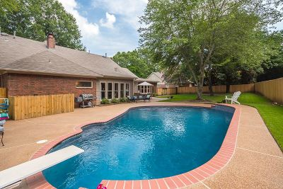 Collierville Single Family Home Contingent: 983 Autumn Oaks