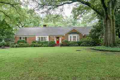 Memphis Single Family Home For Sale: 281 Belle Meade