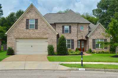 Collierville Single Family Home For Sale: 1415 W Rain Lake