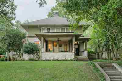 Memphis Single Family Home For Sale: 1643 Carr