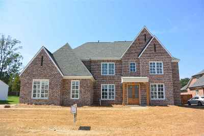 Collierville Single Family Home For Sale: 1495 Preakness Run