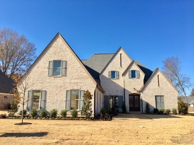 Collierville Single Family Home For Sale: 1195 Monroe Hill
