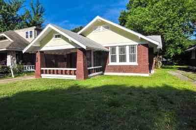 Memphis Single Family Home For Sale: 861 E Parkway