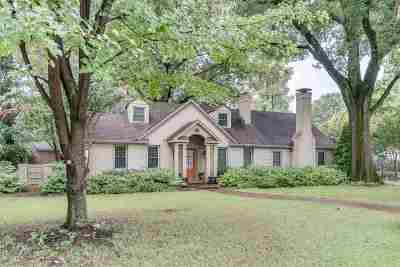 Memphis Single Family Home For Sale: 2847 Central