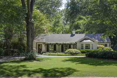 Memphis Single Family Home Contingent: 4237 Belle Meade