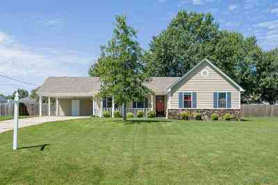 Tipton County Single Family Home For Sale: 313 Blaydes #Blaydes