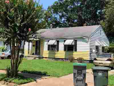 Memphis Single Family Home For Sale: 4082 Cecil