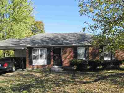 Memphis Single Family Home For Sale: 3942 Point Church