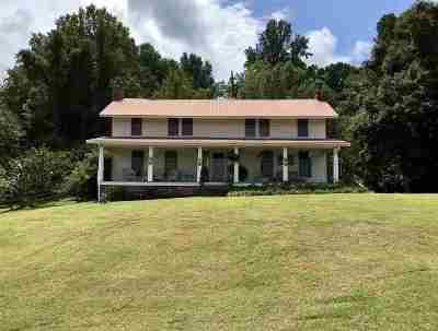 Savannah TN Single Family Home For Sale: $249,000