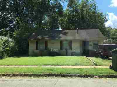Memphis Single Family Home For Sale: 4147 Ward