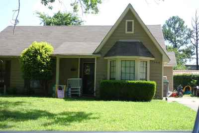 Memphis Single Family Home For Sale: 7486 Meadowland