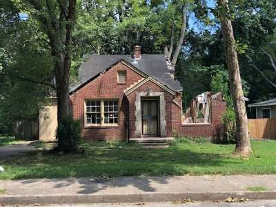 Memphis Single Family Home For Sale: 3308 Carnes