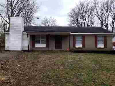 Memphis Single Family Home For Sale: 3741 Ridgemont