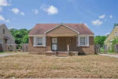 Memphis Single Family Home For Sale: 1069 N Holmes