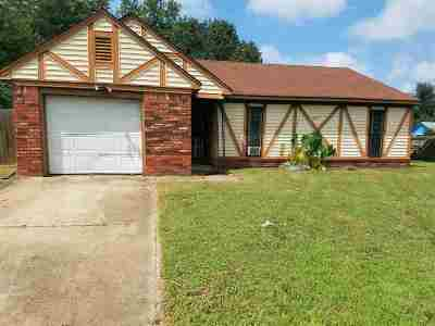 Memphis Single Family Home For Sale: 4931 Shelter