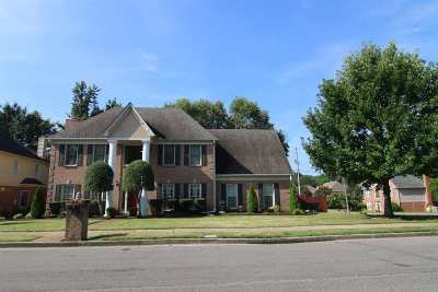 Memphis Single Family Home For Sale: 8845 Raspberry