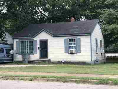 Memphis Single Family Home For Sale: 3730 Townes